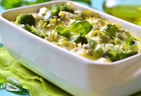 Creamy Broccoli Fusilli